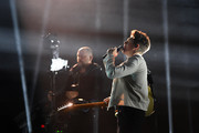 Niall Horan performs on stage during the MTV EMAs 2019 at FIBES Conference and Exhibition Centre on November 03, 2019 in Seville, Spain.