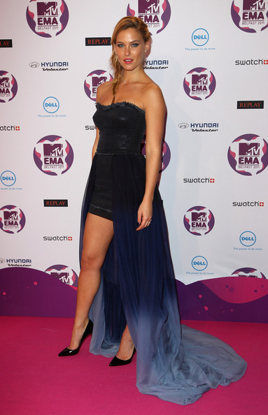 Bar+Refaeli in MTV Europe Music Awards 2011 - Media Boards