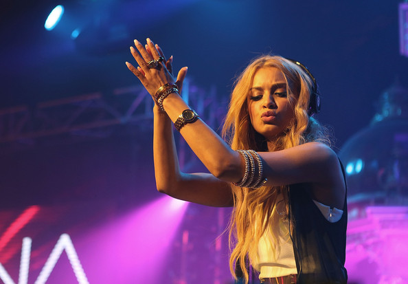 DJ Havana Brown performs live at the MTV Summer Party 2012 on November 28, 2012 in Sydney, Australia.