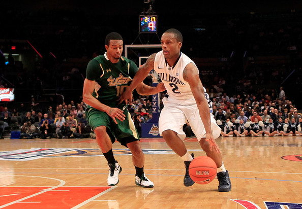 Anthony Crater and Maalik Wayns - Big East Basketball Tournament - First Round
