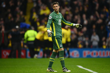 Maarten Stekelenburg Watford v Everton - Premier League