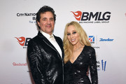 President and CEO of the Big Machine Label Group Scott Borchetta (L) and Senior Vice President of Creative at Big Machine Label Group Sandi Spika Borchetta attends as Big Machine Label Group celebrates The 49th Annual CMA Awards at Rosewall on November 4, 2015 in Nashville, Tennessee.
