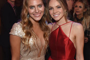 Lauren Jenkins and Danielle Bradbery attend the Big Machine Label Group's celebration of the 51st Annual CMA Awards at FGL House in Nashville on November 8, 2017 in Nashville, Tennessee.