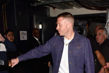 Macklemore iHeartRadio Music Awards - Backstage