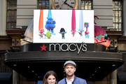 Anna Kendrick and Justin Timberlake attend the Macy's Celebration of Trolls At Herald Square With Justin Timberlake And Anna Kendrick at Macy's Herald Square on October 6, 2016 in New York City.