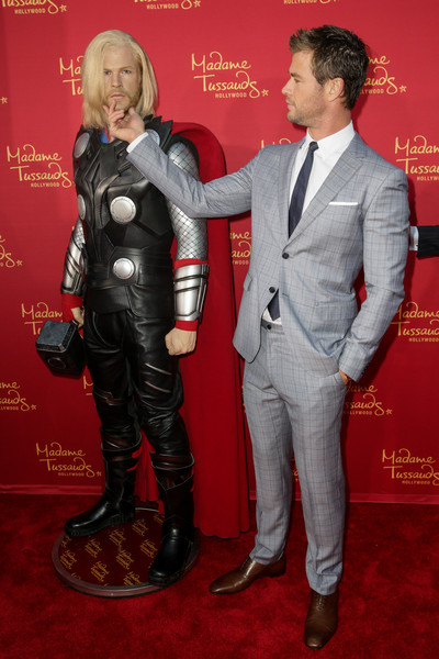 """Madame Tussauds Hollywood Bring Figures For """"Avengers: Age Of Ultron"""" Premiere"""