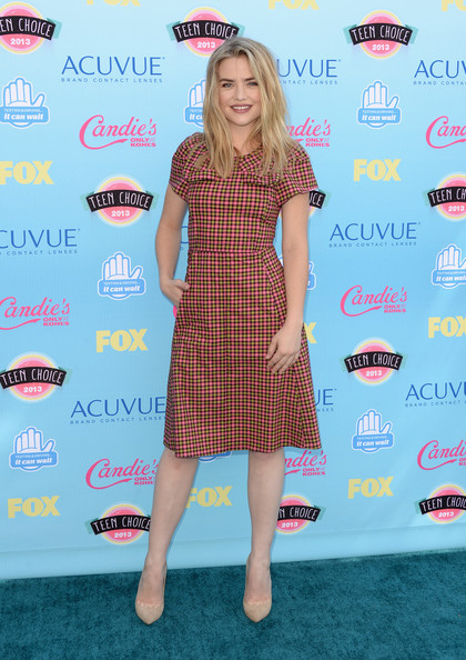 Maddie Hasson Actress Maddie Hasson attends the Teen Choice Awards 2013 at Gibson Amphitheatre on August 11, 2013 in Universal City, California.