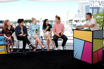 Madelaine Petsch Camila Mendes #IMDboat At San Diego Comic-Con 2019: Day Three