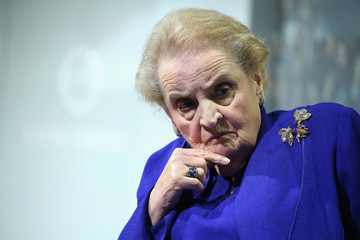 Image result for very ugly picture of madeleine albright
