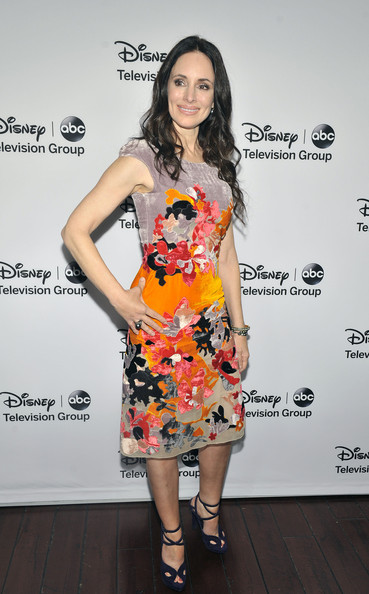 "Madeleine Stowe - Disney ABC Television Group's ""2013 Winter TCA Tour"" Red Carpet Event - Arrivals"
