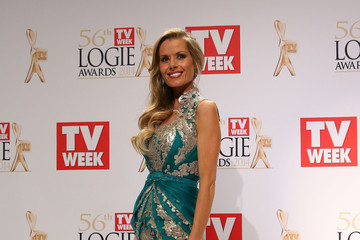 Madeleine West 2014 Logie Awards - Awards Room