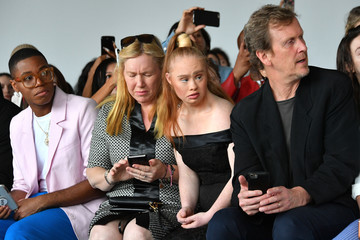 Madeline Stuart Marcel Ostertag - Front Row - September 2018 - New York Fashion Week: The Shows