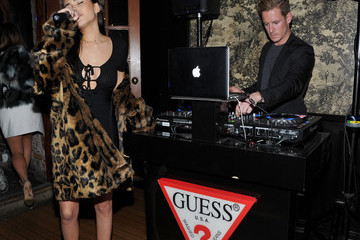 Madison Beer GUESS Glitz and Glam Holiday Event
