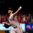 Madison Bumgarner San Francisco Giants  v St Louis Cardinals