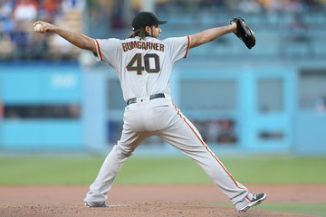 Madison Bumgarner San Francisco Giants v Los Angeles Dodgers