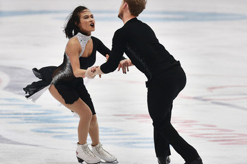 Madison Chock Rostelecom Cup ISU Grand Prix of Figure Skating 2014 - Day Two