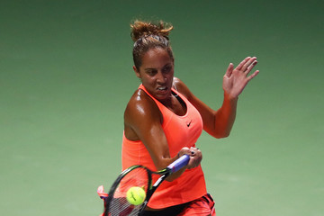 Madison Keys BNP Paribas WTA Finals: Singapore 2016 - Day One