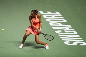 Madison Keys BNP Paribas WTA Finals: Singapore 2016 - Day Three