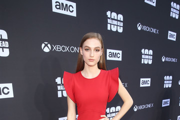 Madison Lintz 'The Walking Dead' 100th Premiere and Party