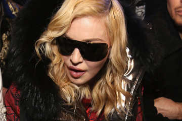 Madonna Philipp Plein - Front Row - February 2017 - New York Fashion Week: The Shows