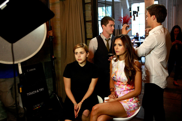 The Hollywood Reporter TIFF Video Lounge Presented By Canon - Day 3 - 2012 Toronto International Film Festival