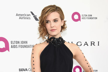 Maggie Grace 24th Annual Elton John AIDS Foundation's Oscar Viewing Party - Red Carpet