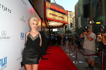Maggie Grace 'Wind River' Los Angeles Premiere Presented in Partnership With FIJI Water