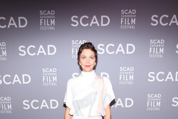 Maggie Gyllenhaal 21st SCAD Savannah Film Festival - Opening Night Red Carpet & Screening Of 'Roma'