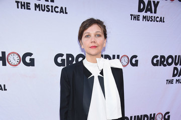 """Maggie Gyllenhaal """"Groundhog Day"""" Broadway Opening Night - Arrivals & Curtain Call"""