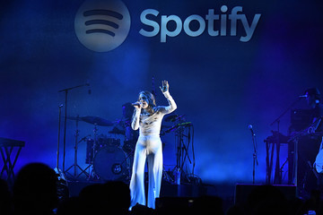 """Maggie Rogers Spotify Hosts """"Best New Artist"""" Party At The Lot Studios - Inside"""