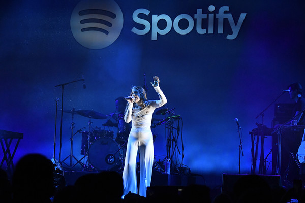 """Spotify Hosts """"Best New Artist"""" Party At The Lot Studios - Inside"""
