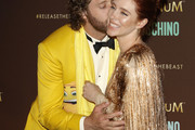 TJ Miller and Kate Gorney attend Magnum party during the 70th annual Cannes Film Festival at Magnum Beach on May 18, 2017 in Cannes, France.