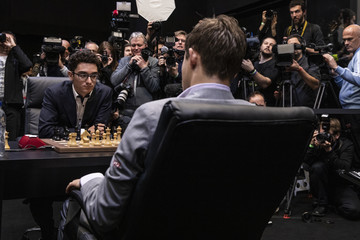 Magnus Carlsen European Best Pictures Of The Day - November 28, 2018