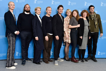Magnus Millang Anne Gry Henningsen 'The Commune' Photo Call - 66th Berlinale International Film Festival