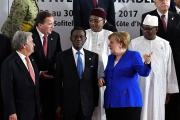 Mahamadou Issoufou EU and African Leaders Attend 5th EU-Africa Summit