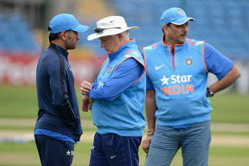 Mahendra Singh Dhoni England and India Nets Sessions