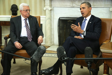 Mahmoud Abbas Barack Obama Meets with Mahmoud Abbas