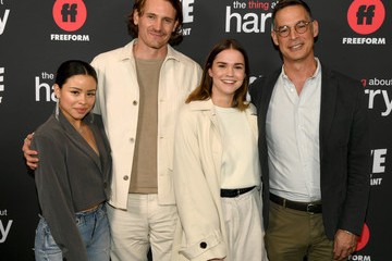 """Maia Mitchell Tom Ascheim Premiere Of Freeform's """"The Thing About Harry"""" - Red Carpet"""