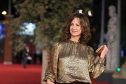 "French actress Valerie Lemercier attends the ""Main Dans La Main"" Premiere during the 7th Rome Film Festival at the Auditorium Parco Della Musica on November 10, 2012 in Rome, Italy."