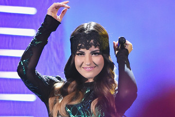 Maite Perroni Celebrities Attend Univision's Premios Juventud 2015