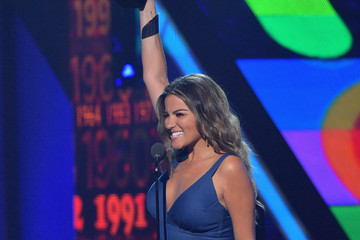 Maite Perroni Univision's 13th Edition Of Premios Juventud Youth Awards - Show