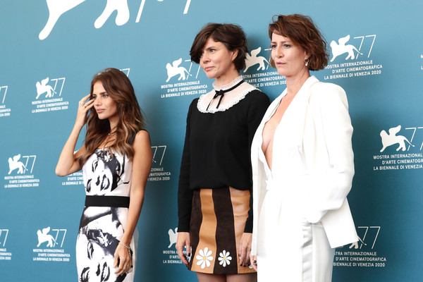 """Sniegu Juz Nigdy Nie Bedzie"" (Never Gonna Snow Again) Photocall  - The 77th Venice Film Festival [premiere,fashion,event,carpet,flooring,style,che dio ci aiuti,venice,red carpet,stx it20 risk.5rv nr eo,socialite,formal wear,carpet,festival,film festival,venice film festival]"
