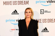Alex Gerrard arrives at the Premiere of 'Make Us Dream' at FACT on November 15, 2018 in Liverpool, England.
