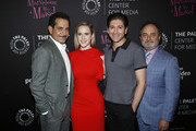 Tony Shalhoub, Rachel Brosnahan, Michael Zegen and Kevin Pollak attend the Making Maisel Marvelous featuring Amazon Prime Original The Marvelous Mrs. Maisel at The Paley Center for Media on August 10, 2019 in New York City.
