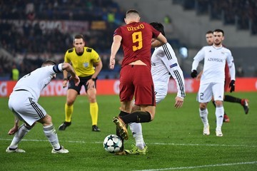 Maksim Medvedev AS Roma v Qarabag FK - UEFA Champions League