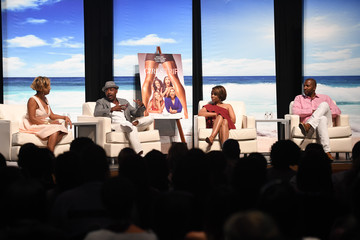 Malcolm D. Lee Regina Hall ABFF 2017 - 'GIRLS TRIP' Anatomy of a Scene Panel With Regina Hall, Will Packer and Malcolm D. Lee