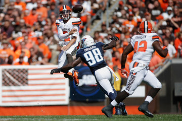 Malcolm Johnson Tennessee Titans v Cleveland Browns