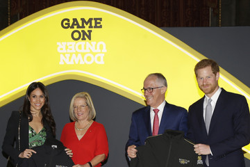 Malcolm Turnbull Lucy Turnbull Prince Harry And Ms. Meghan Markle Attend Invictus Games Reception  -  April 21, 2018