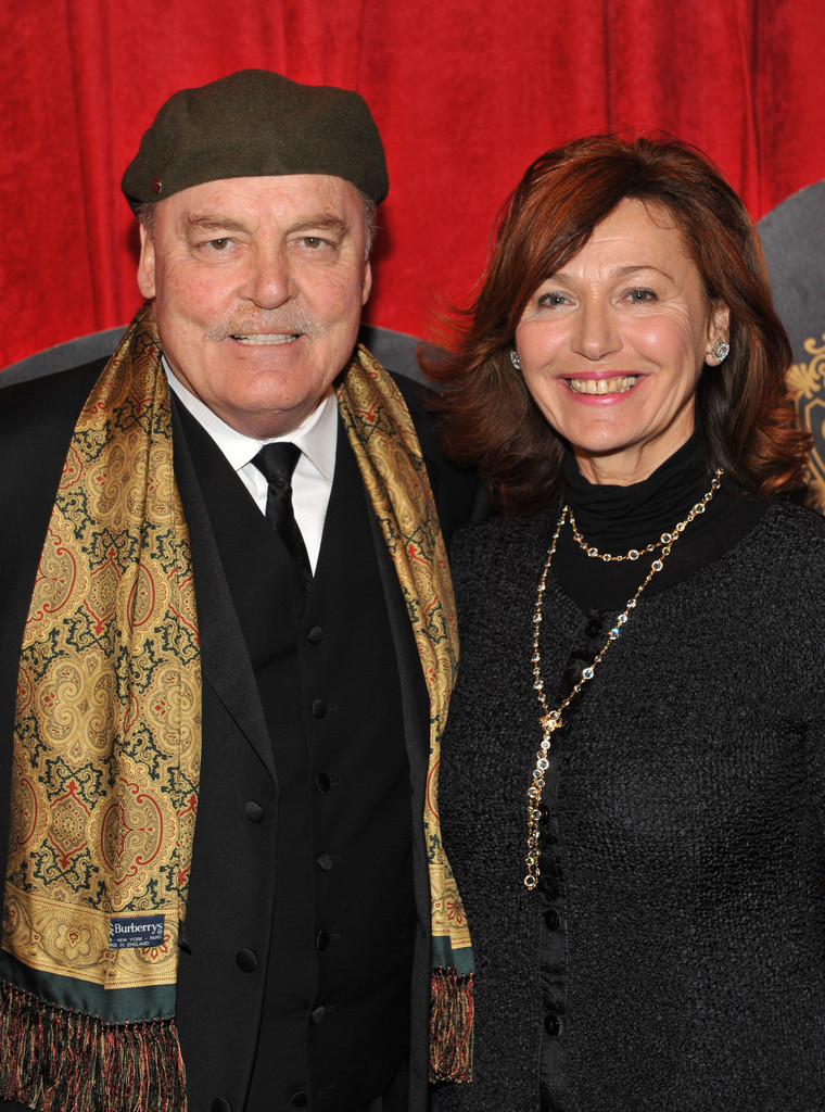 "Malgosia Tomassi and Stacy Keach - ""End Of The Rainbow"" Broadway Opening Night - After Party"