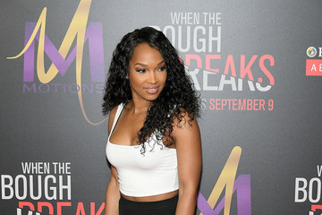 Malika Haqq Premiere of Sony Pictures Releasing's 'When the Bough Breaks' - Arrivals